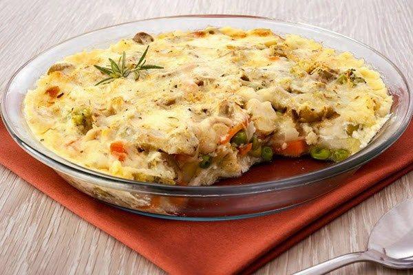 Gratinado de Legumes: Fácil de fazer e saboroso! Veja ⬇⬇⬇ http://goo.gl/1zJz6V