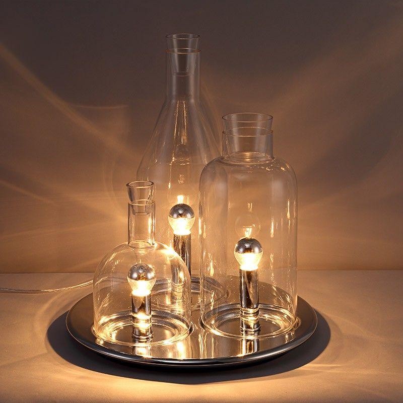 Wine Bottle Table Lamps