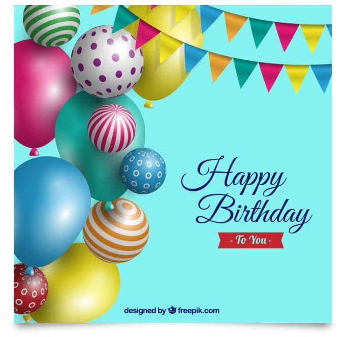 Birthday Background Template By Freepik  Design Desk