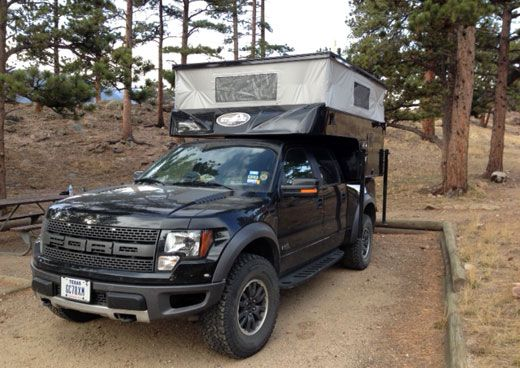 Ford Raptor Goes Further With Phoenix Ford Raptor Camper Truck