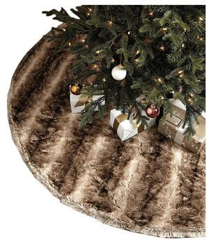 Xmas Ornaments  Accessories  Decorations Cat Lover Christmas Tree Skirt  Christmas tree stand cover for Pet Cat Owners