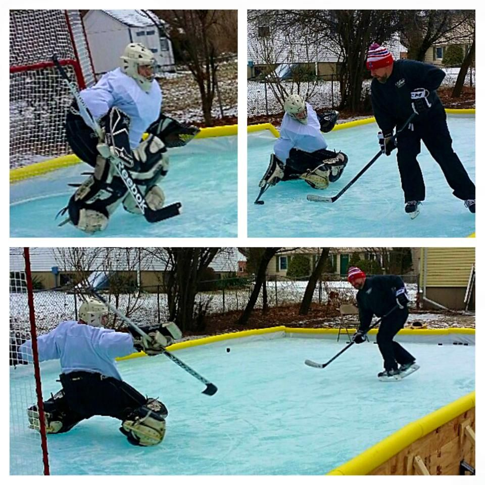 Need To Move Back East For Backyard Rink Because It Doesn T Get Cold Enough Here Description From Pinterest Com Backyard Rink Outdoor Rink Backyard Ice Rink