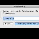 MacDropAny, la forma más sencilla de sincronizar una carpeta con tu servicio en la nube