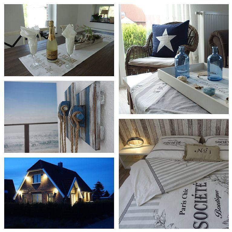 Haus NordseeStar****** in Neßmersiel 3 Schlafzimmer, für