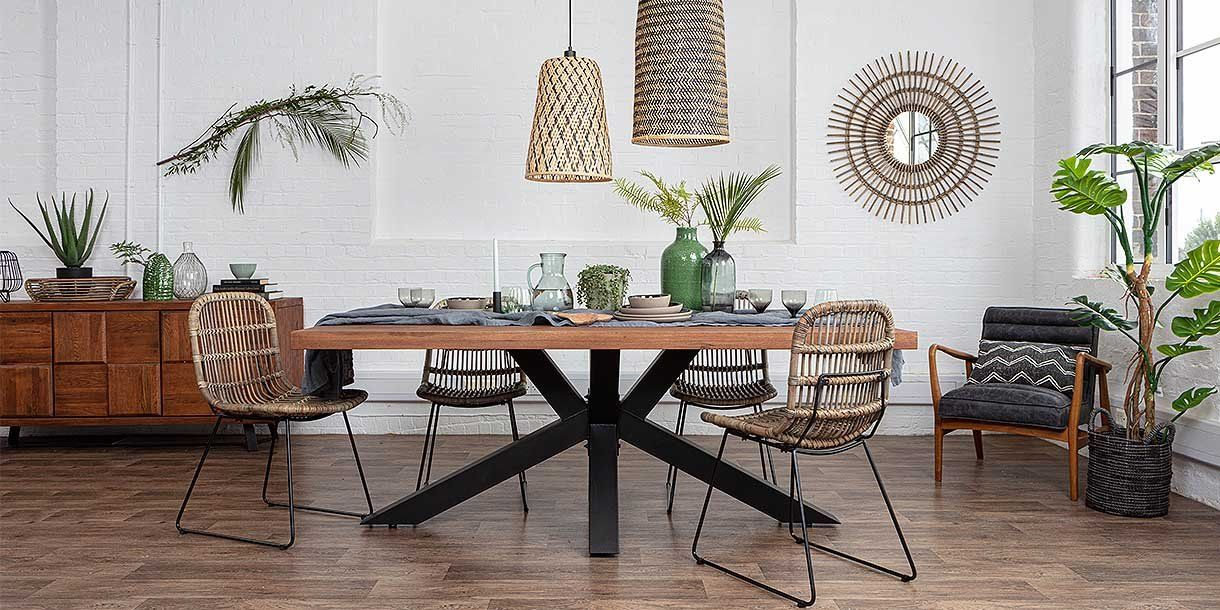 Colette Round Reclaimed Wood Extendable Dining Table In 2020