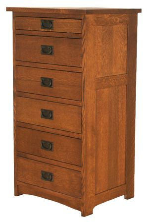 Merveilleux American Mission Lingerie Chest AMW 2406/W F, Bedroom Bureaus And Chests,  Bedroom, Mission Furniture