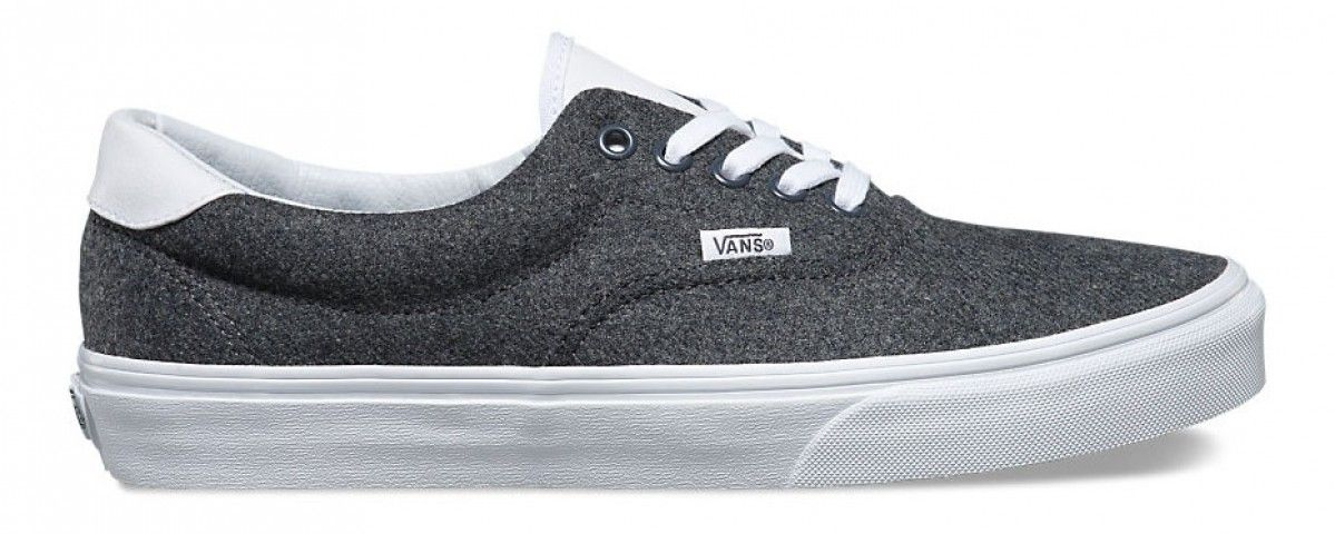 45e87654bcb8 Vans Era 59 (Varsity) Charcoal True White