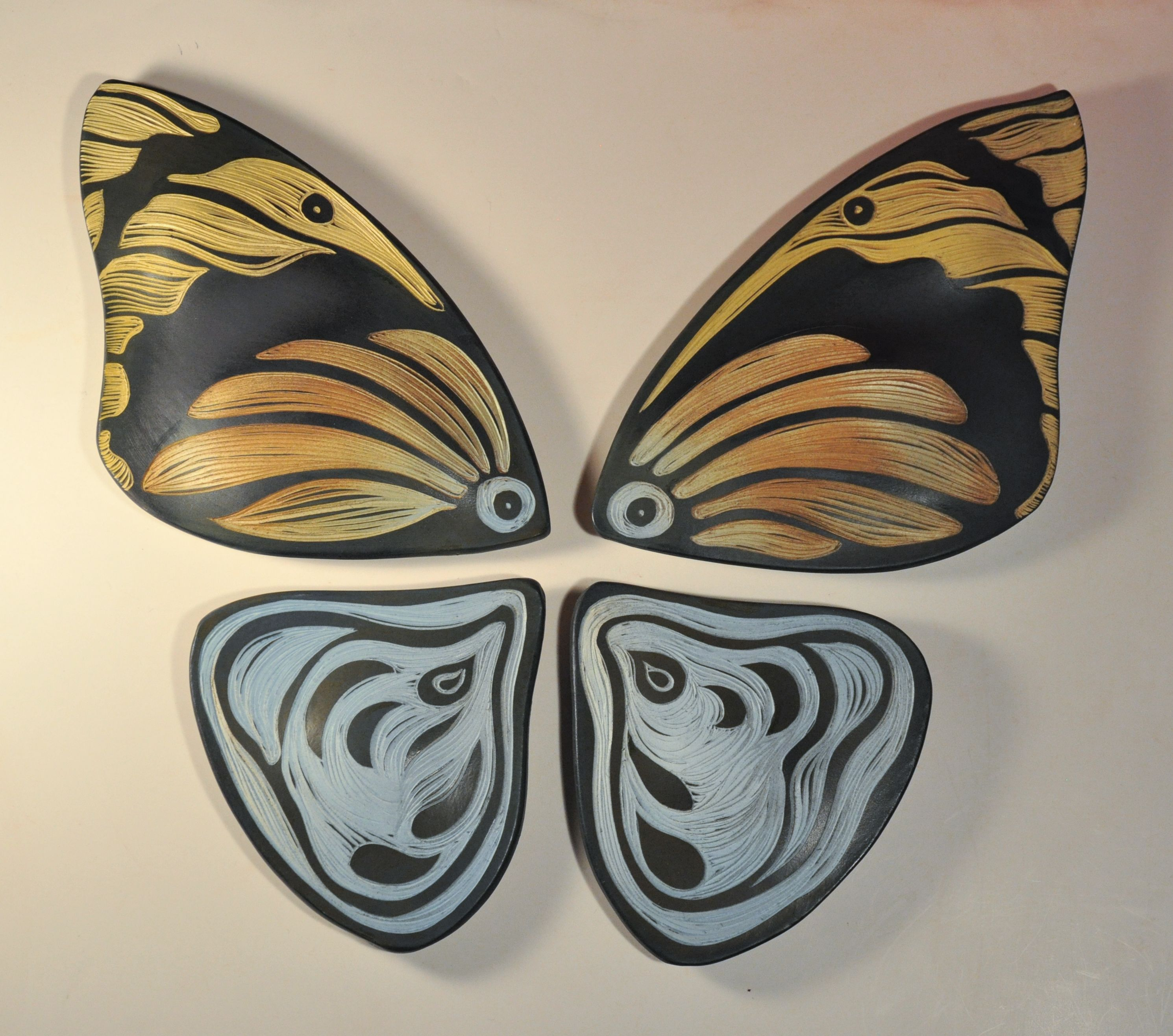 Ceramic wall art tiles gallery tile flooring design ideas natalie blake studios handmade ceramic wall art tile butterfly natalie blake studios handmade ceramic wall art dailygadgetfo Gallery