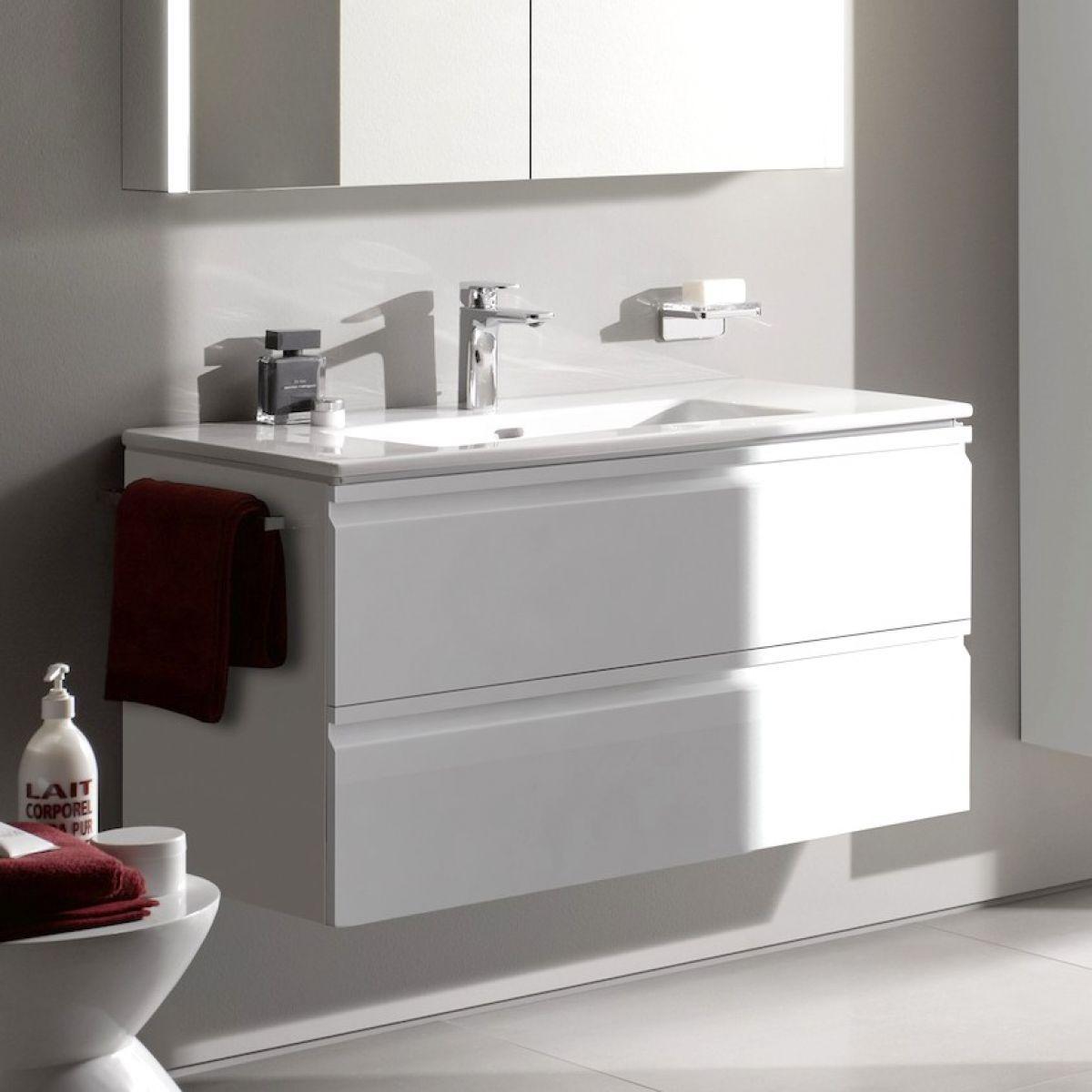 Laufen Pro S Double Drawer Vanity Unit Slim Basin In 2020