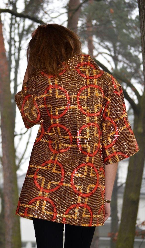 UTB African Print Kimono / Urban Tribe Berlin