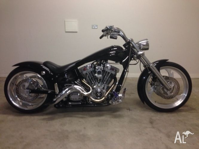 Custom Chopper American Ironhorse Slammer For Sale In