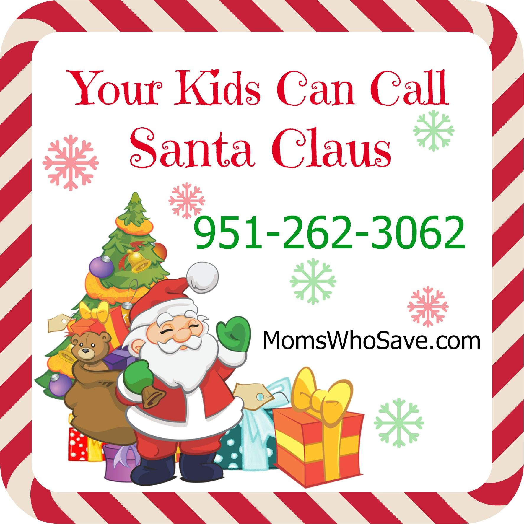 Your Kids Can Call Santa -- It\'s #FREE! #holidays #Christmas ...