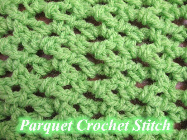 Share this:This Free Crochet pattern teaches how to crochet the Parquet Crochet Stitch. This is a simple lacy mesh stitch.  Find more crochet stitches here on the categoryCrochet Stitches.  Parquet Crochet Stitch – Free Crochet Pattern This page contains affiliate links For this Parquet Crochet Stitch you can use Any size hook and …