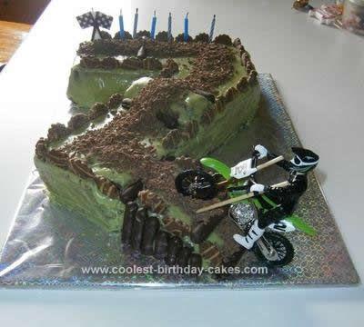 Motocross Cakes 3 Birthday cakes Homemade and Birthdays