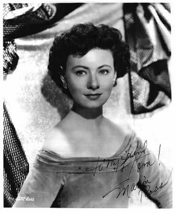 Marion Ross (Happy Days Mrs  Cunningham)   BEFORE being