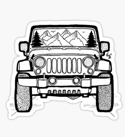 Trending Stickers | sticker | Pinterest | Jeeps, Cars and Sticker bomb