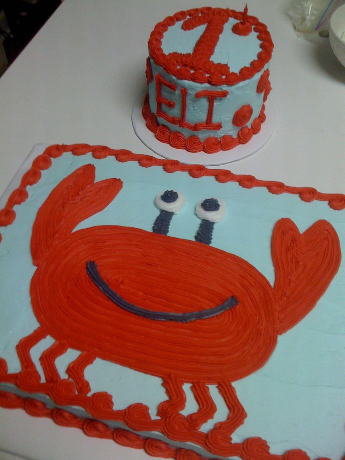 Crab Birthday Cake Bing Images Kids Bday Ideas Pinterest
