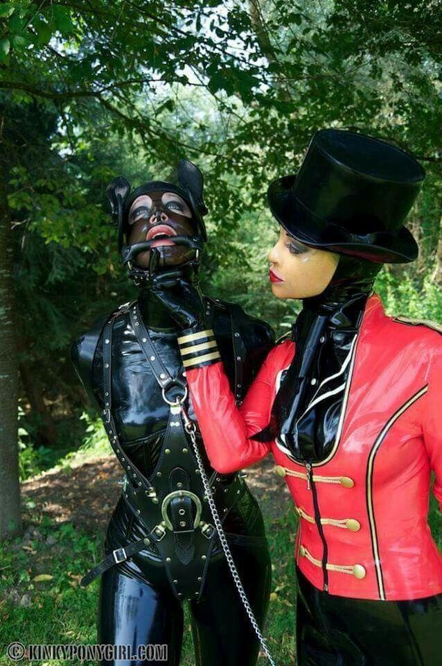 The Rubber Gimp Partner Slave To Minxtressrouge Photo