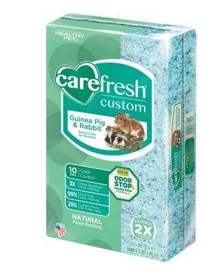 Carefresh Custom Guinea Pig & Rabbit Bedding Blue 23L
