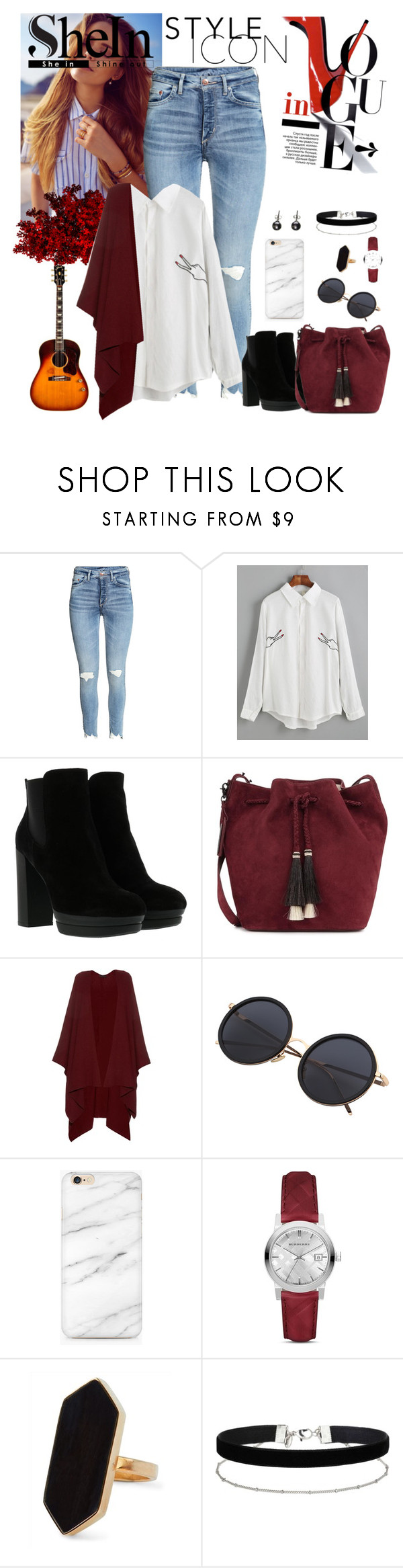 """""""Playful classics"""" by ersila15 ❤ liked on Polyvore featuring Hogan, Loeffler Randall, The Row, Burberry, Jaeger, Miss Selfridge and Black"""