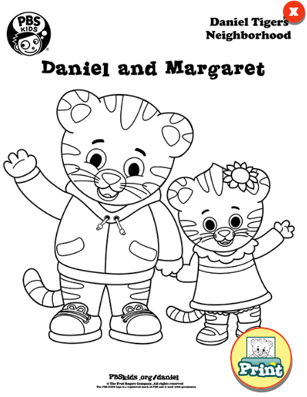 Did you know you can find free Daniel Tiger's Neighborhood