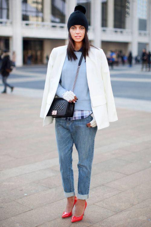 femme-belle:  Stylishat New York Fashion Week A/W14
