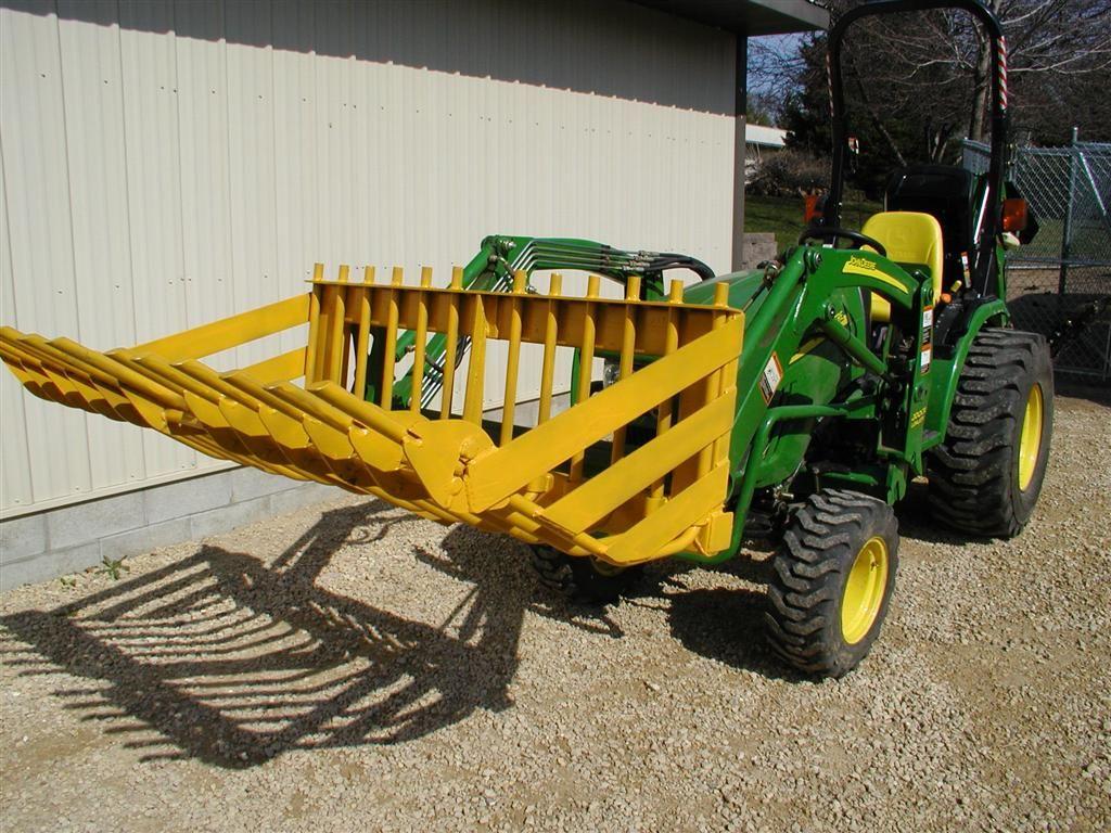 Rock Bucket | Mowing equipment in 2019 | Tractor implements
