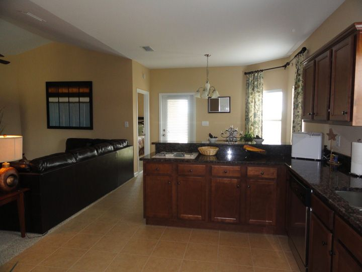 The Piedmont Floor Plan Kitchen Is An Open Room Leading To Both The Living Room And Breakfast