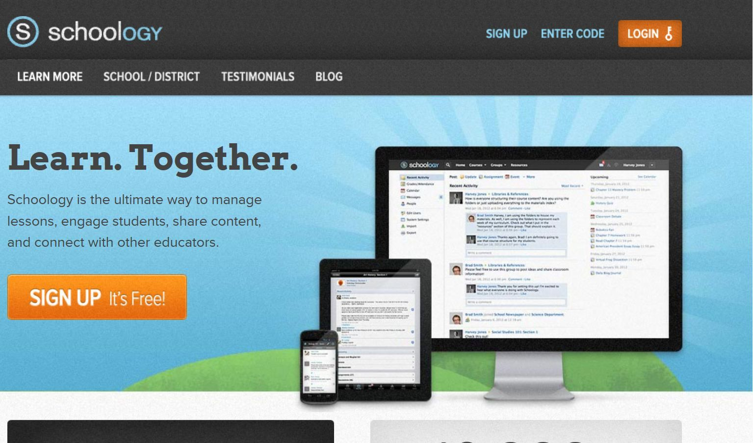 Schoology The ultimate way to manager lessons, engage