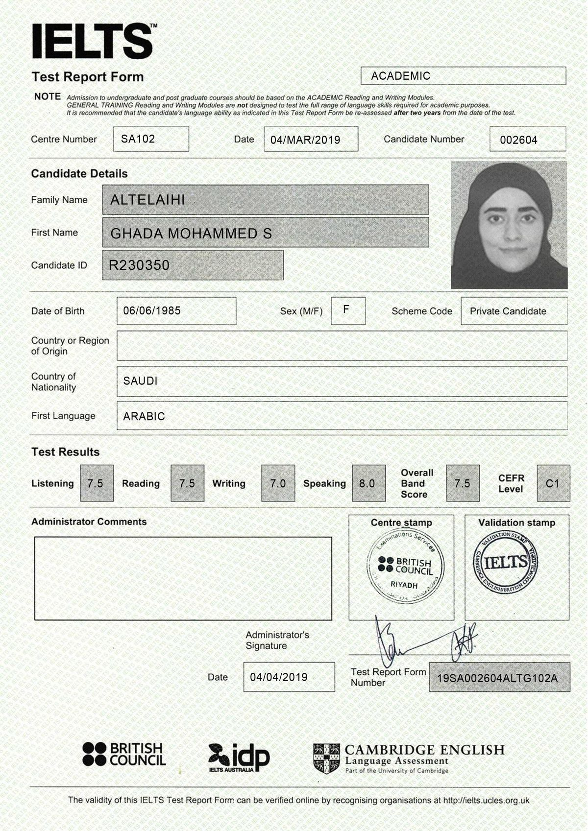 Original Ielts Certificate Without Exams WhatsApp