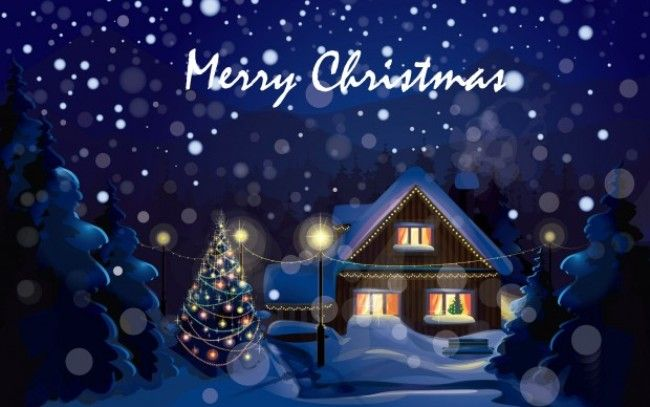 Merry Christmas Hd Wallpaper.Pin On My