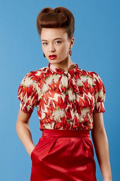 Tara Starlet 1940s 40s Style: Vintage Retro Clothing, Retro
