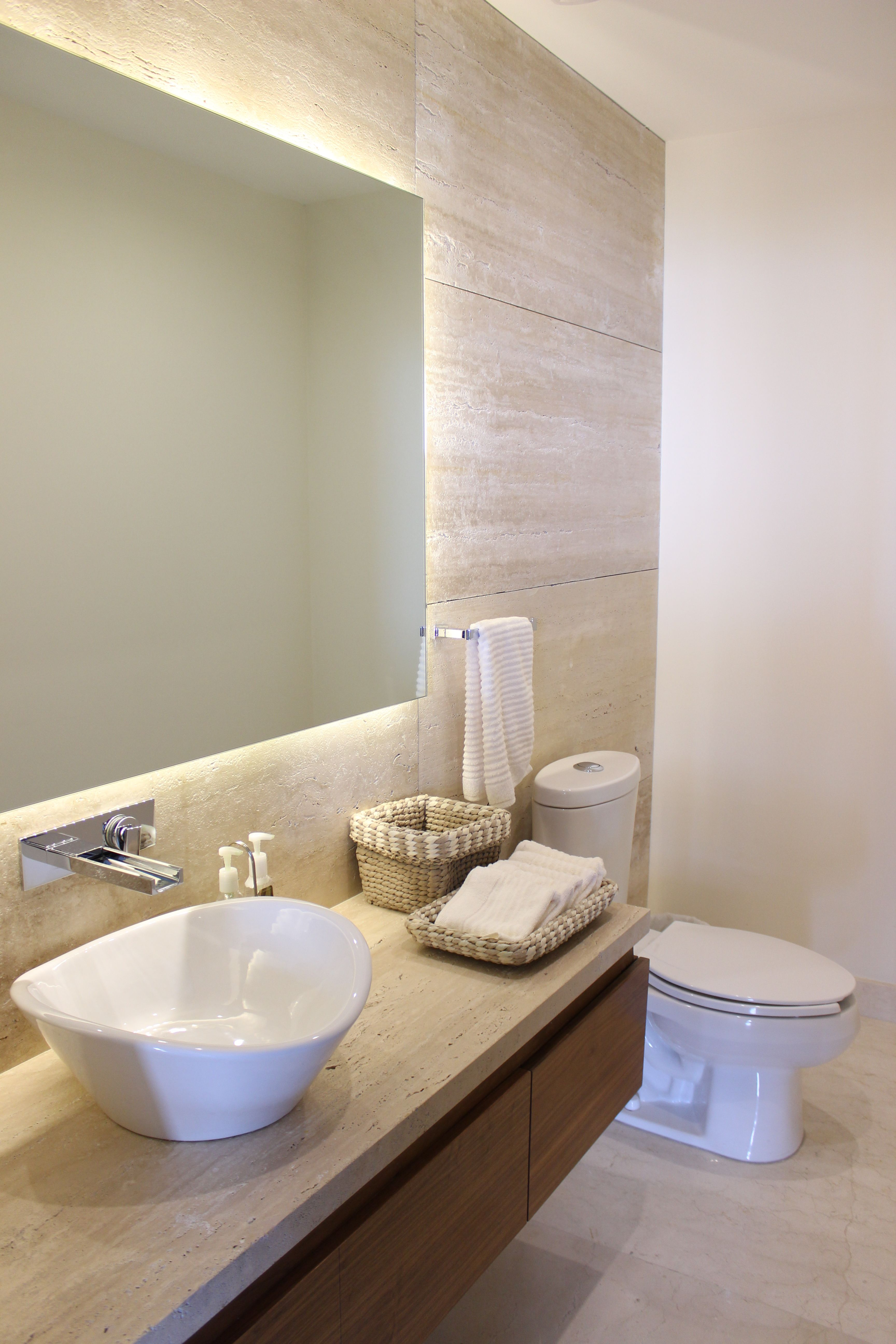 Bano Toilette De Travertino Bano Marmol Muebles De Bano Marmol