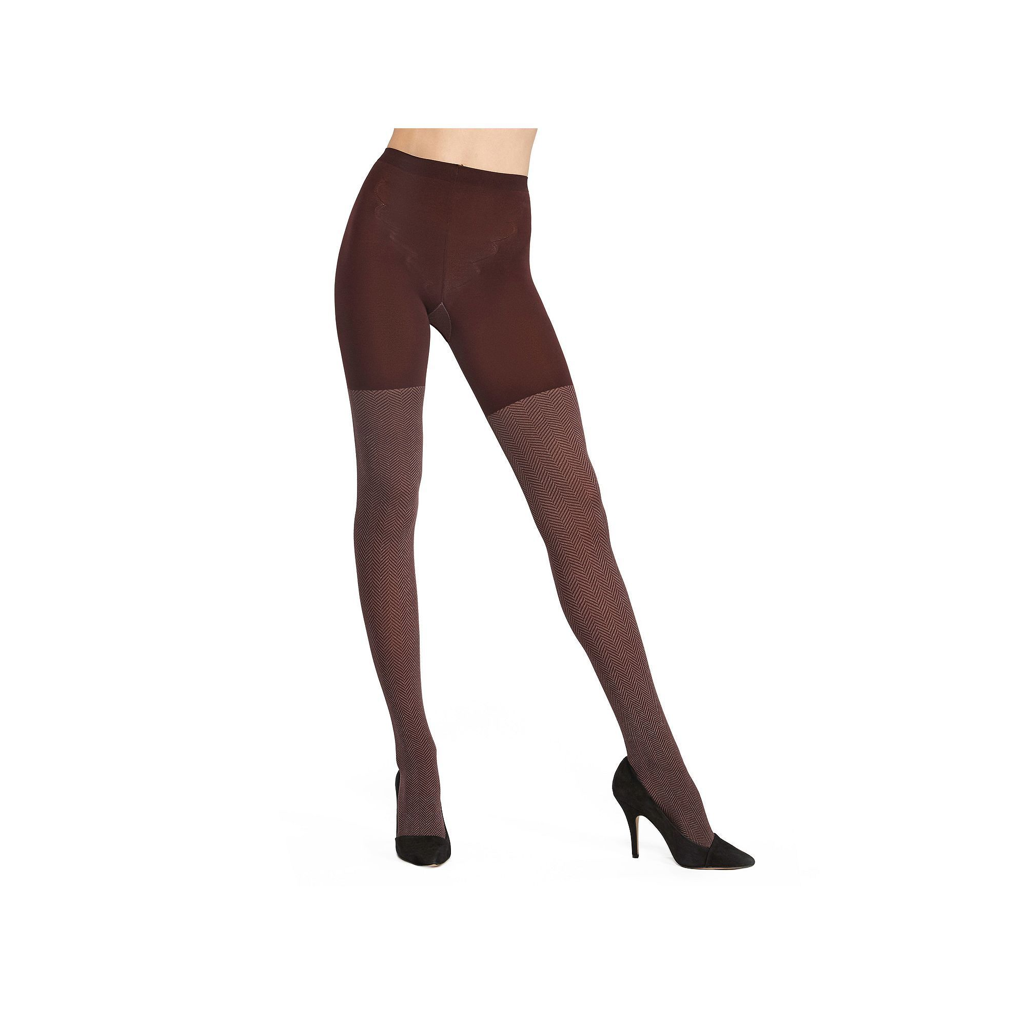 666bacfcc5e Assets Red Hot Label by Spanx Shaping Herringbone Tights