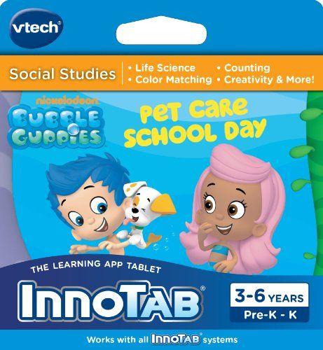 VTech InnoTab Software, Bubble Guppies  http://www.bestcheapsoftware.com/vtech-innotab-software-bubble-guppies/
