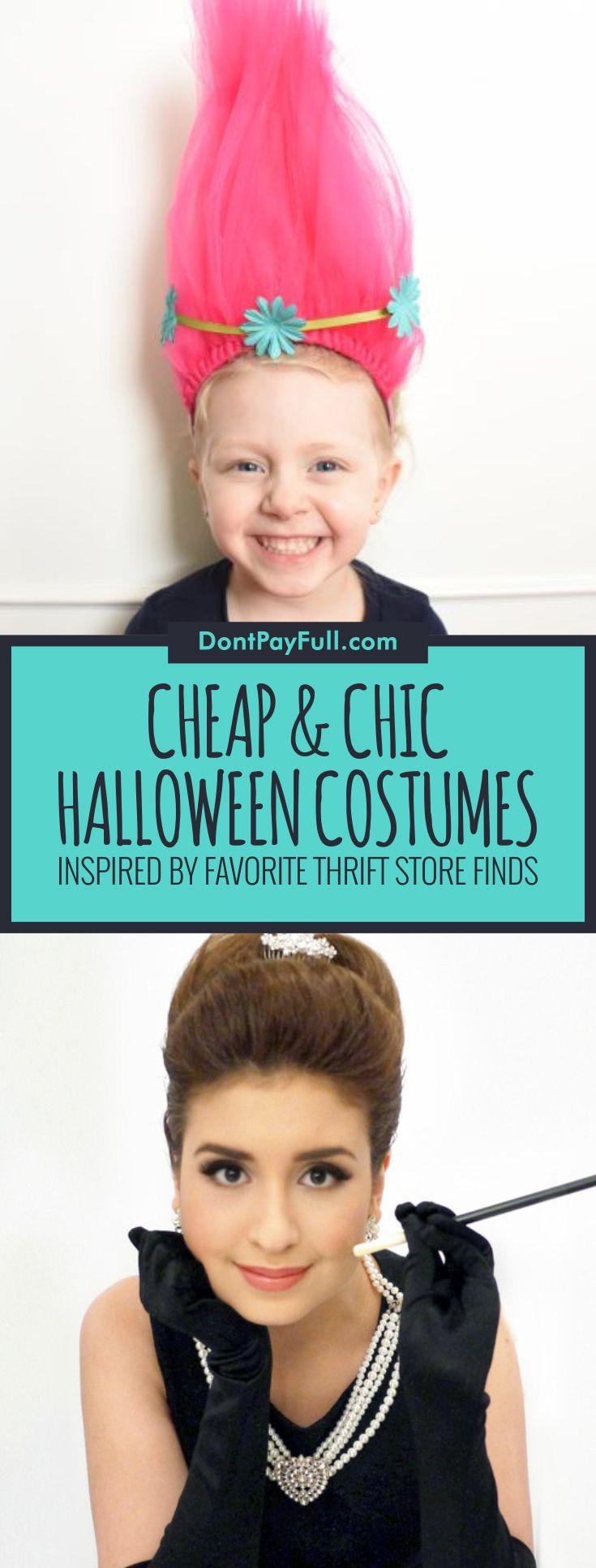 18 cheap diy halloween costumes inspiredfavorite thrift store