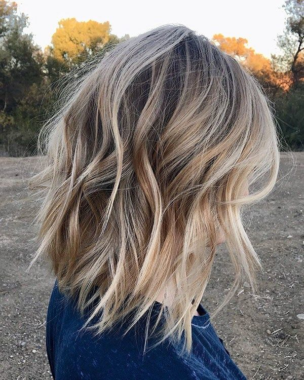 Choppy Long Bob Popular Short Hairstyles For Fine Hair Thick Hair Styles Hair Styles Long Bob Hairstyles