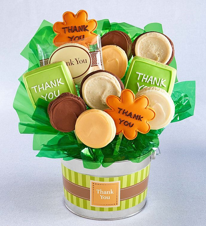 235 & Thank You Cookie Flower Pot | Cookie Flowers | Cheryls.com | Perfect ...