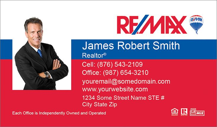 Colored remax business cards re max business cards pinterest colored remax business cards reheart Choice Image