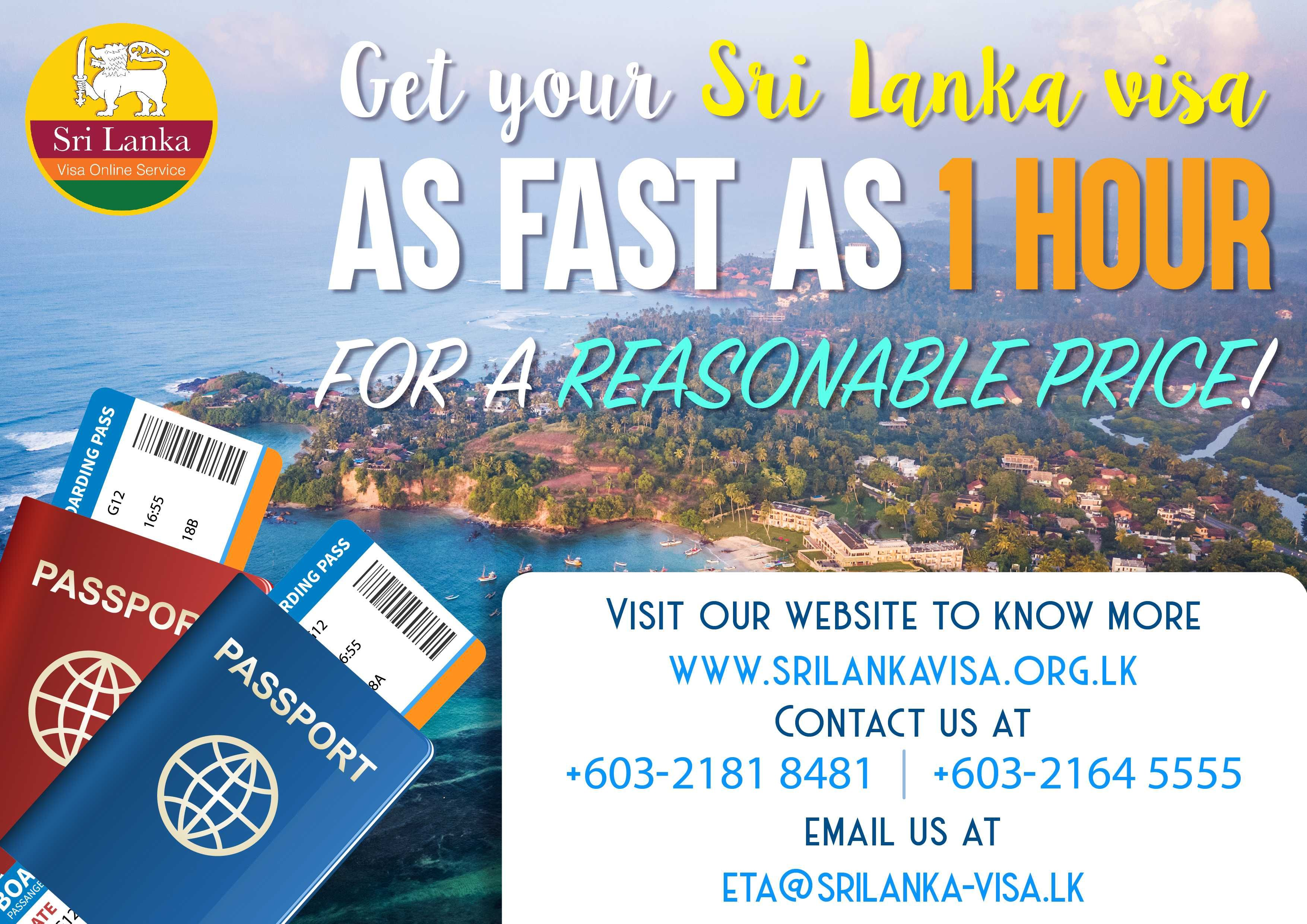 Sri Lanka Visa Online Sri Lankan Evisa Services Visa Service Provider Visa Online Passport Information Visa