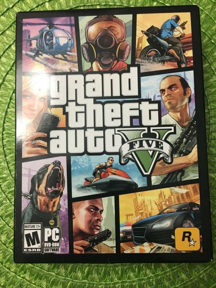 Grand Theft Auto V Gta V Gta 5 Gta Online Pc Dvd Rom 7