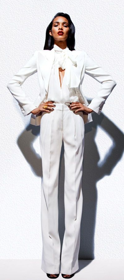 5c798595df1971 Bianca Jagger white suit vibes   Rehearsal Dinner Ideas in 2019 ...