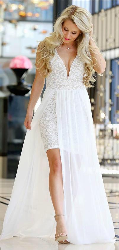 8c2fbd18c90c ... Make Way for Wonderful Off White…  lovelulus.  lovelulus Shower Dress  For Bride