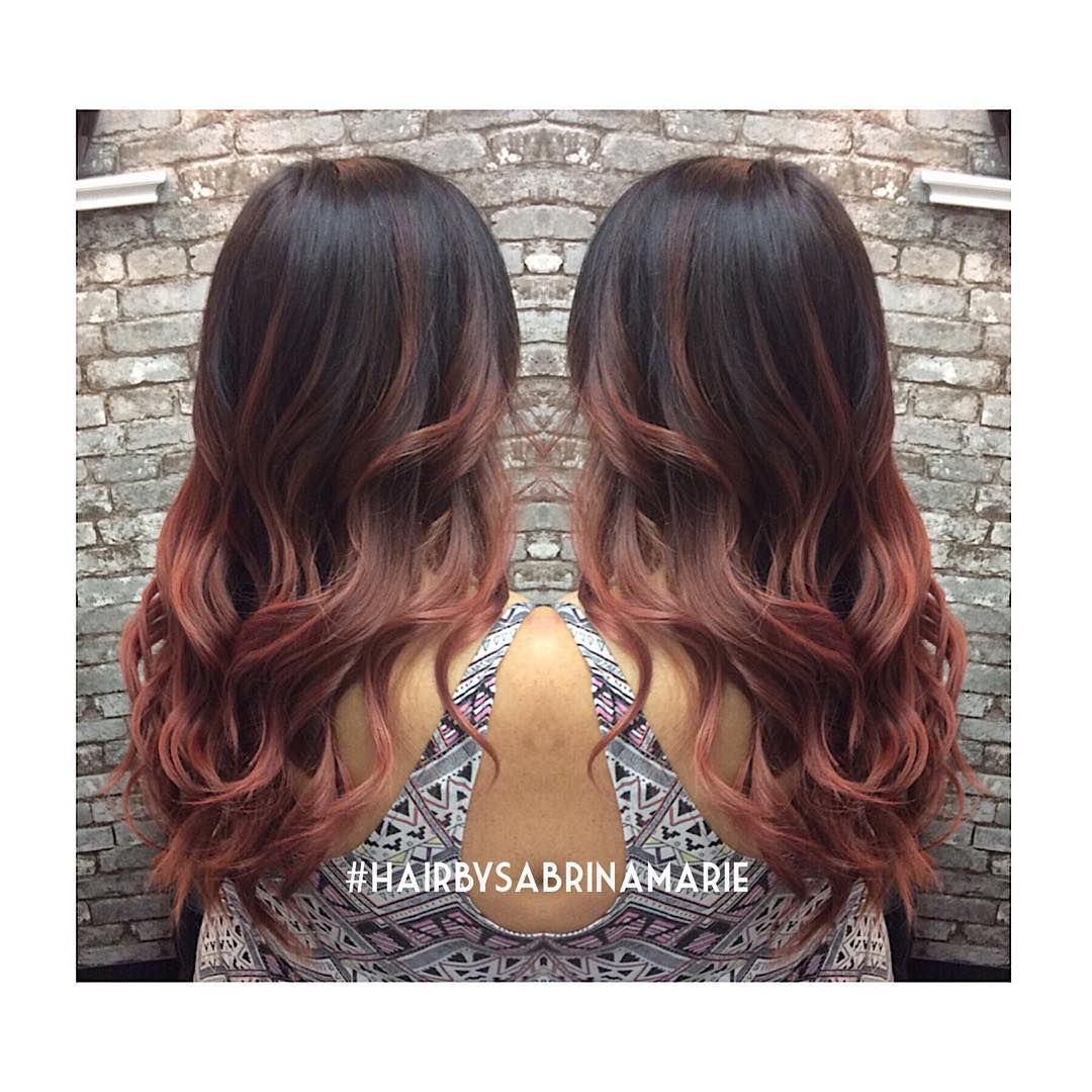 """""""#colormelt #ombre #balayageombre #balayage #hairpainting #sdhair #sdstylist #sdcolorist #hairinspiration #hairstyles #lushhairstudio #hairbysabrinamarie…"""""""