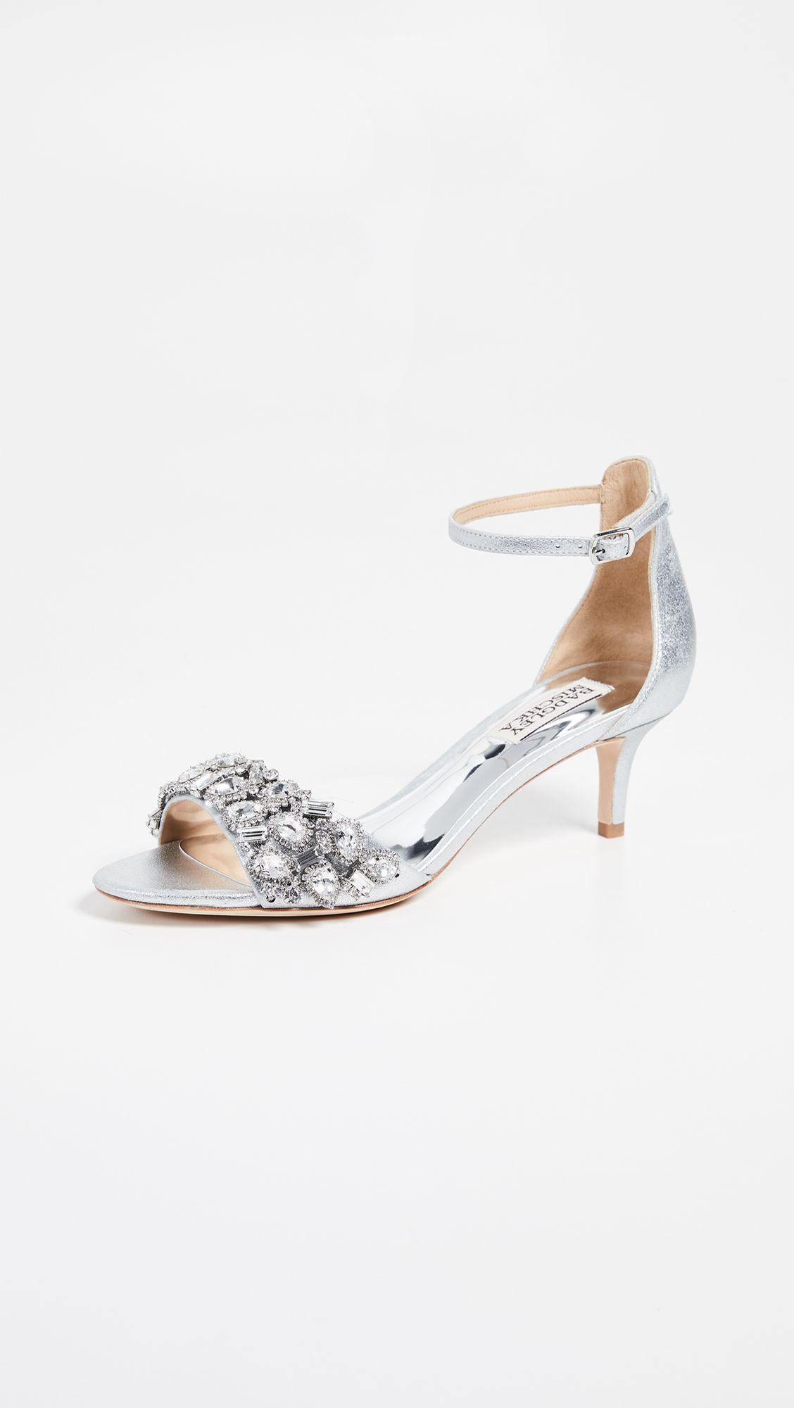 Badgley Mischka Lara Ii Ankle Strap Sandals Ankle Strap Heels Heels Fashion Heels