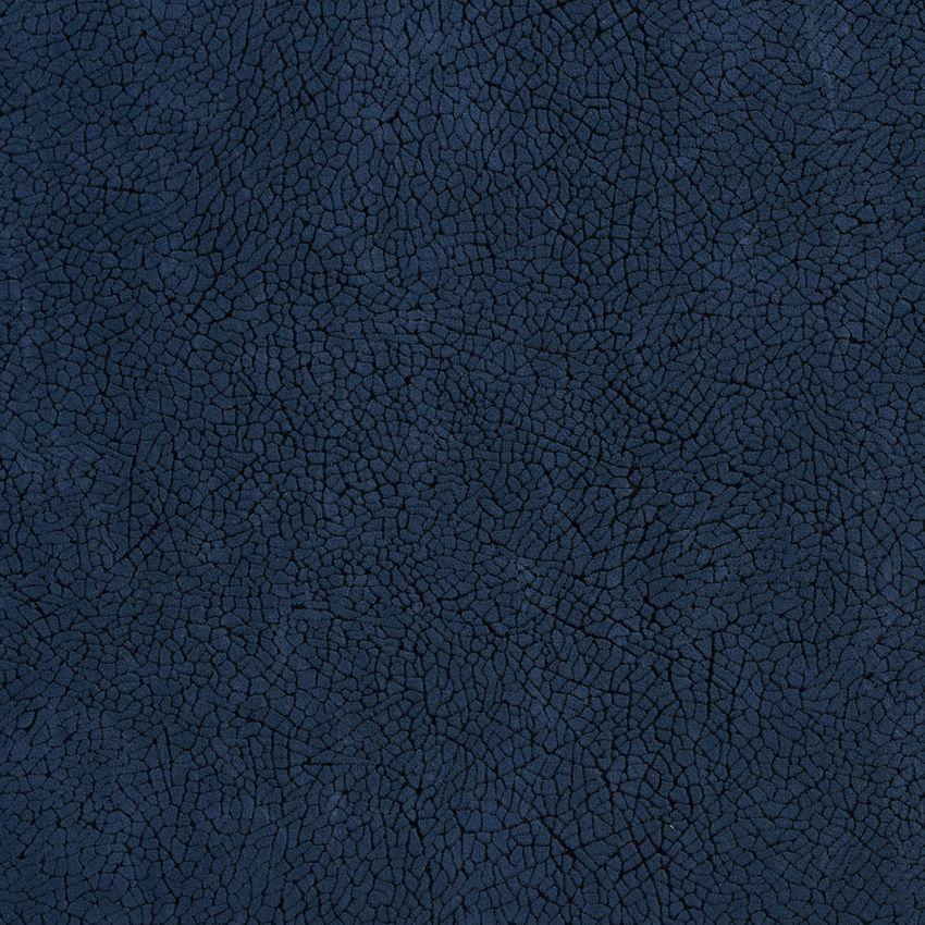 Navy Mosaic Blue Plain Microfiber Drapery And Upholstery