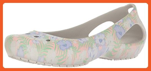 013767b10ee857 crocs Women s Kadee Graphic W Flat