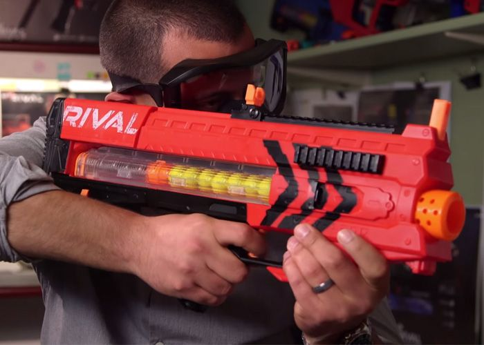 Backyard Skirmishes Just Got More Competitive With The Nerf Rival
