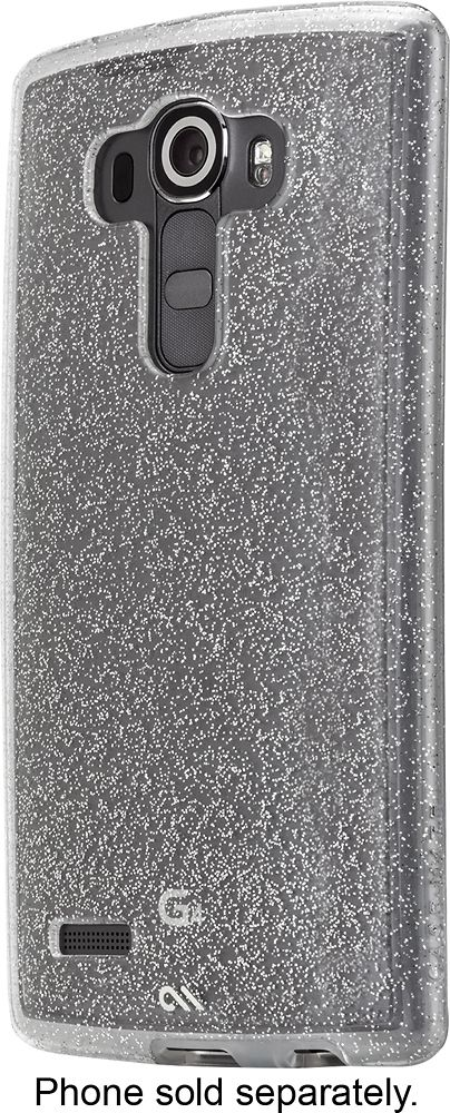 Case-Mate - Sheer Glam Hard Shell Case for LG G4 Cell Phones - Champagne (Beige)