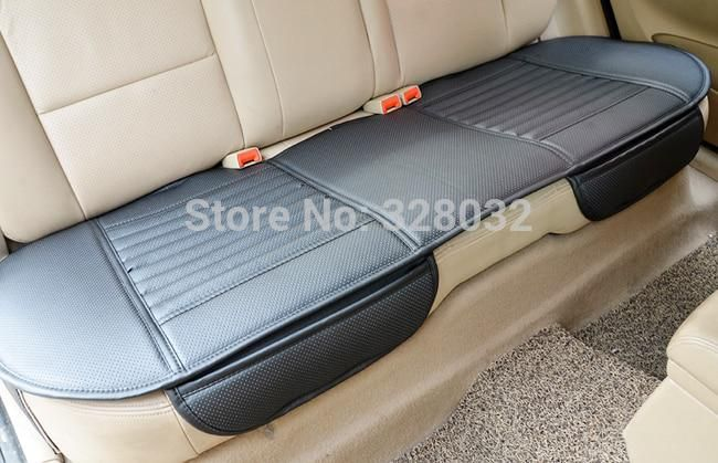Bamboo Car Seat Cushion Charcoal Leather Car Monolithic Cover
